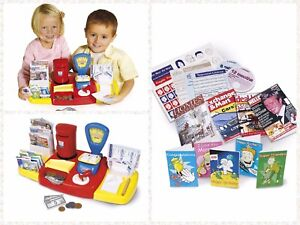 Image Is Loading Kids Post Office Role Play Toy Playset Weighing