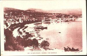 CARTOLINA-LA-COTE-D-039-AZUR-BANDOL-Vue-generale-1920-ca