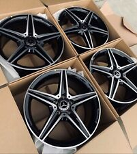 New New 18 Mercedes Benz Amg Factory Oem Wheels Rims Rines C250 C300 C350 C400