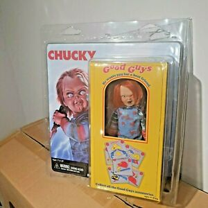 "NECA Child/'s Play Chucky 5.5/"" clothed figurine Rétro MEGO doll 2018"