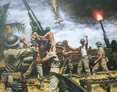 Don Stivers limited edition print The Desperate Hours Battle of the Bulge