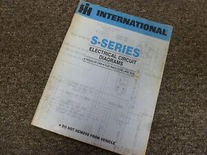 1984 international 1954 2155 2275 2276 truck electrical heavy truck wiring diagram manual
