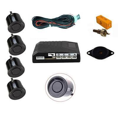 schwarz 4-Punkt Heck Einparkhilfe Sensor Kit mit Lautsprecher / Summer - für Z3