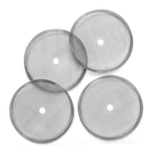 5 Pcs Replacement Steel Filter Mesh For French Press Cafetiere Coffee Tea Maker