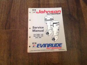 Array - details about 92 omc johnson evinrude 508287 120 140 185 225 250 300 et lv service manual oem  rh   ebay com