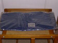NUOVO con confezione-Blu Navy Cappotto Impermeabile in PVC con cappuccio e fodera in poliestere-taglia S