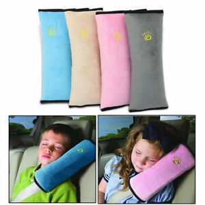 enfants s curit voiture ceinture coussin sangle harnais paule sommeil oreiller ebay. Black Bedroom Furniture Sets. Home Design Ideas