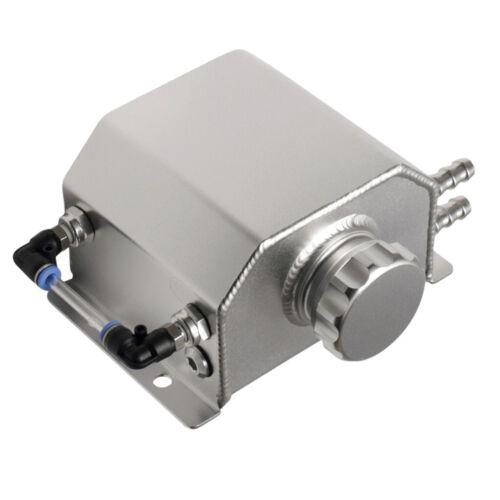 1L 1000ml Car Engine Oil Catch Can Reservoir Tank Aluminum Alloy
