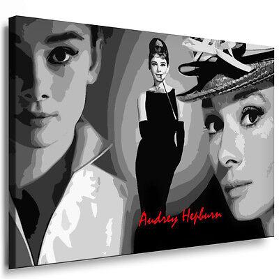 "Leinwandbilder ORG ""Audrey Hepburn"" Bild Druck Gemälde, Bilder Kunstdrucke Foto"