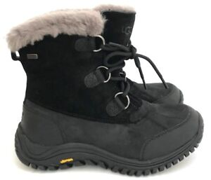 68db00a8b46 Details about Ugg Ostrander Women's Waterproof Leather Suede Vibram Rubber  Boots -20 °C