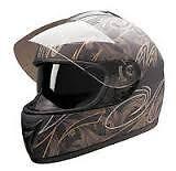 HCI Full Face helmet w/ Double visor