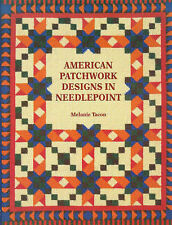 Good, American Patchwork Designs in Needlepoint, Tacon, Melanie, Book