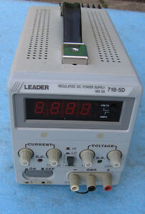 LEADER 718-5D POWER SUPPLY