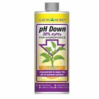 Grow More Ph Down 1 Gallon 1g - Hydroponic Water Level Adjuster Solution