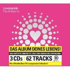 LOVEPARADE - THE ANTHEMS 3 CD MIT FATBOY SLIM UVM. NEU