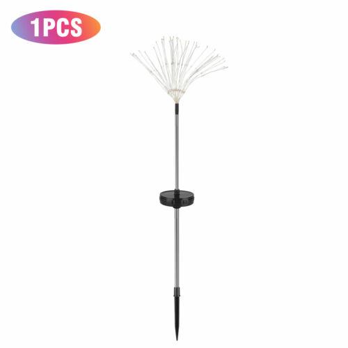 4//2pcs LED Solar Firework Lights Starburst Fairy Outdoor Garden Path Lawn Lamp