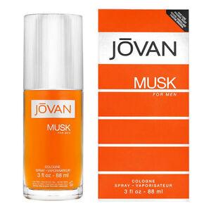 Jovan Musk Cologne for Men 88ml EDC Spray