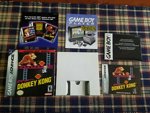 Donkey-Kong-NES-Classic-Series-Authentic-Game-Boy-Advance-Box-Manual-Only