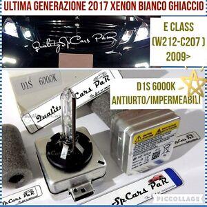 2-Lampadine-XENON-D1S-MERCEDES-CLASSE-E-W212-C207-BIXENO-6000K-HID-RICAMBIO-Luci