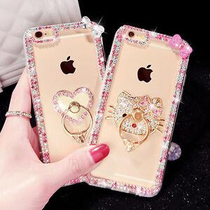 Amigurumi Kitty Ring Holder : Bling Diamond Jewelled Hello Kitty Bow Ring Holder Soft ...