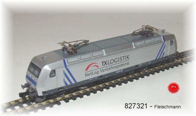 Fleischmann 827321   Elektrolokomotive der Baureihe 145  der TX Logistik Neu OVP