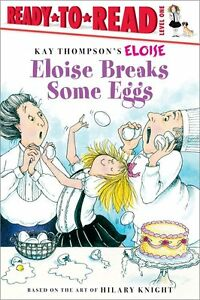 Ready-To-Read-Level-1-Eloise-Breaks-Some-Eggs-by-Kay-Thompson-FREE-Shipping-35