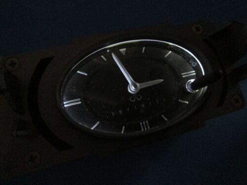 Infiniti G35 2003-2004 Front Center Dash Clock analog LED bulbs 03-04 OEM TESTED