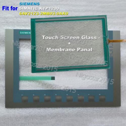 for SIEMENS SIMATIC KTP1200 6AV2123-2MB03-0AX0 Membrane Keypad Panel