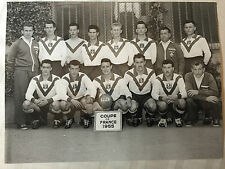photo press football  Coupe de France 1955 Lille      600