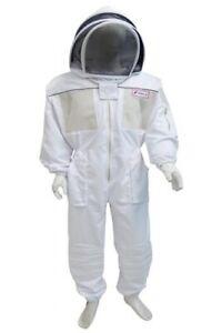 Corps Plein D'apiculture Aéré Bee Costume/clôture Voile Métal/zip/taille Xxl-afficher Le Titre D'origine