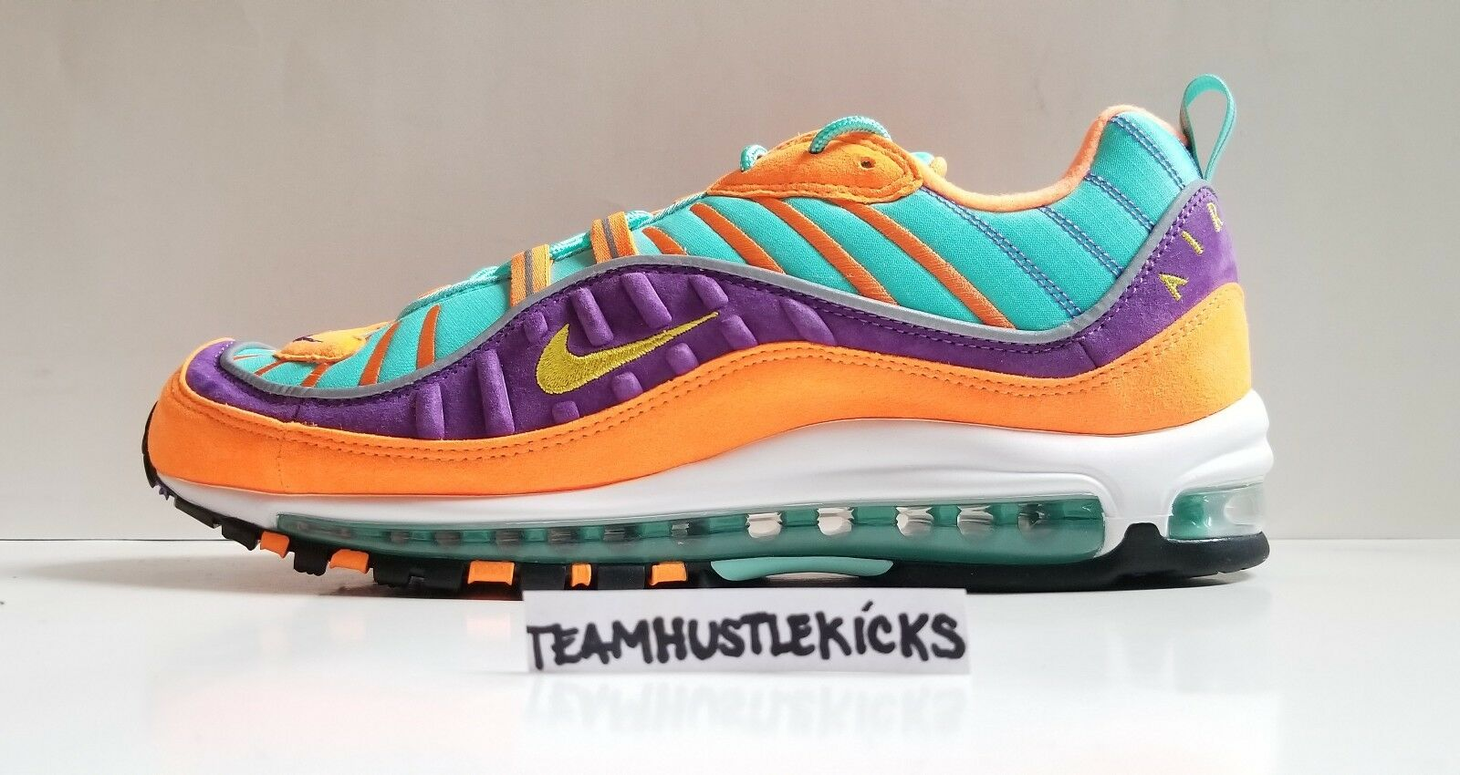 Nike Air Max 98 Cone & Tour Yellow Mens size 11.5 Brand New in box 924462-800