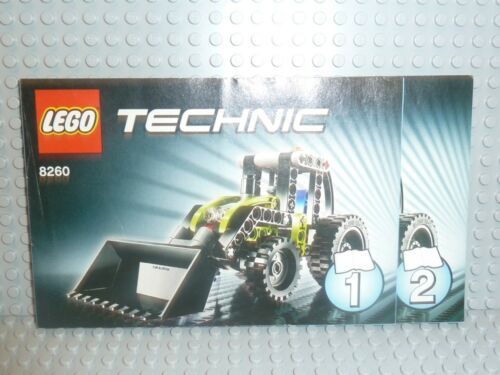LEGO® Technic Bauanleitung 8260 Traktor tractor ungelocht instruction B706