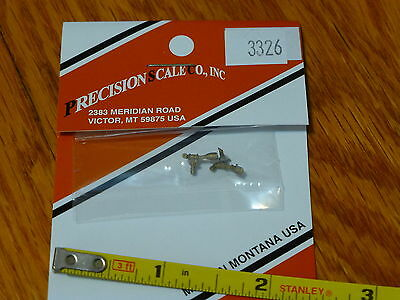 Brass Precision Scale HO #3326 Check Valve w//Elbow Vertical Nathan Style