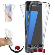 Funda Carcasa Gel Antichoque 360º Transparente Samsung Galaxy A3 (2017) A320