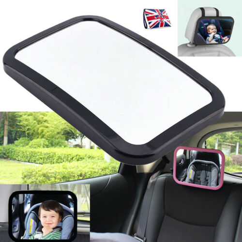 Adjustable Rear Baby//Child Seat Car Safety View Mirror-Headrest Mounted Top Sell