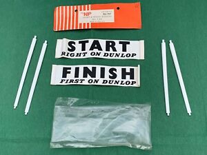 Like-Scalexric-1960-039-s-very-rare-VIP-Raceways-Start-amp-Finish-Banners-set-GREAT