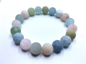 Healing Crystal Gemstone Bracelet - Inner Peace, Strength and Joy