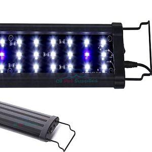 0-5W-LED-Light-12-034-18-034-24-034-30-034-36-034-48-034-72-034-HIGH-LUMEN-Aquarium-FOWLR-White-Blue