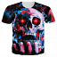 Skull-3D-Print-Mens-Womens-Casual-Short-Sleeve-Crew-Neck-T-Shirt-Graphic-Tee-Top thumbnail 14