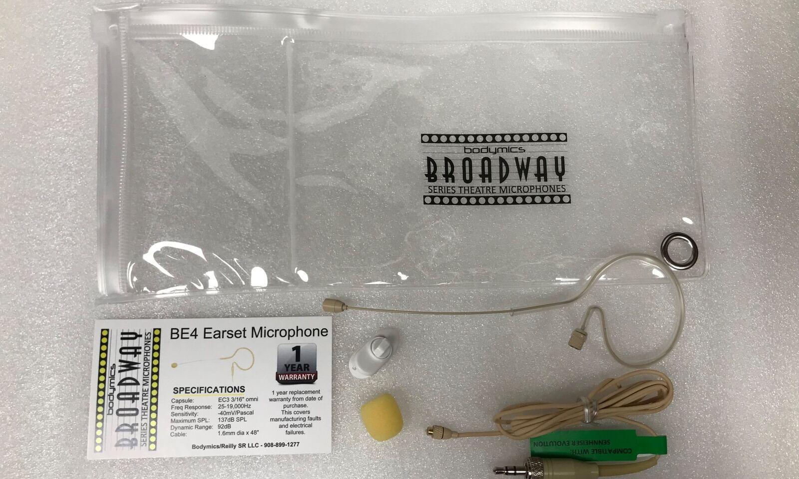 Earset - for Audio-Technica Cream Omni 3 16  4.2  boom 4-Pin-Bodymics BED4Sc-AT