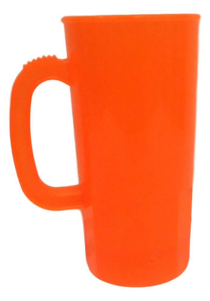 100 Large orange 22 Oz Beer Mugs Steins Made USA Lead Free Wholesale Lot