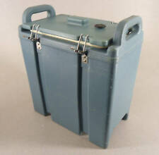Blue Cambro 350lcd Insulated Soup Beverage Container 33 Gallon Free Shipping