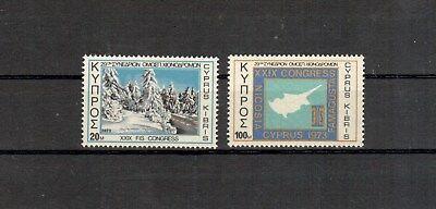 Besorgt Zypern Michelnummer 387-388 Postfrisch europa:5258 SpäTester Style-Online-Verkauf Von 2019 50%