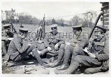 DVD SCANS OF WW1 PHOTO ALBUM LONDON RIFLE BRIGADE  AT HAYWARDS HEATH 1915