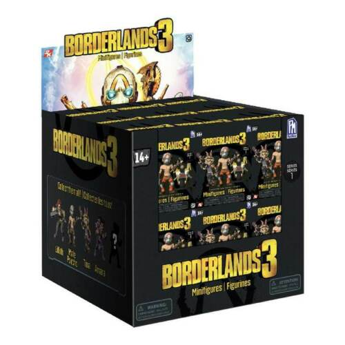 Borderlands 3 Collectable Minifigures Single Blind Box Figure