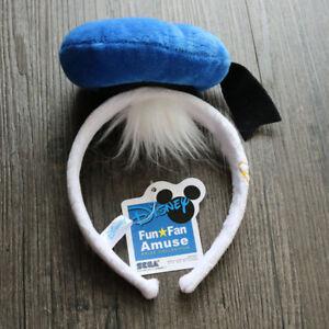 Disney-Donald-Duck-Character-Headband-With-Hat-OSFM-Festival-Costume-GIft