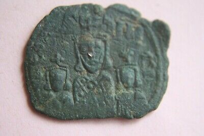Coins & Paper Money Knowledgeable Ancient Byzantine Basil I Bronze Follis Coin 9th Century Ad Coins: Ancient