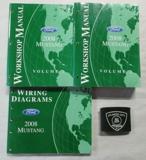 2008 Ford Mustang Service Shop Repair Manual  U0026 Wiring