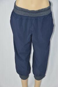 Te Verde Womens XL Blue Windbreaker Elastic Waist Capri Pants ...