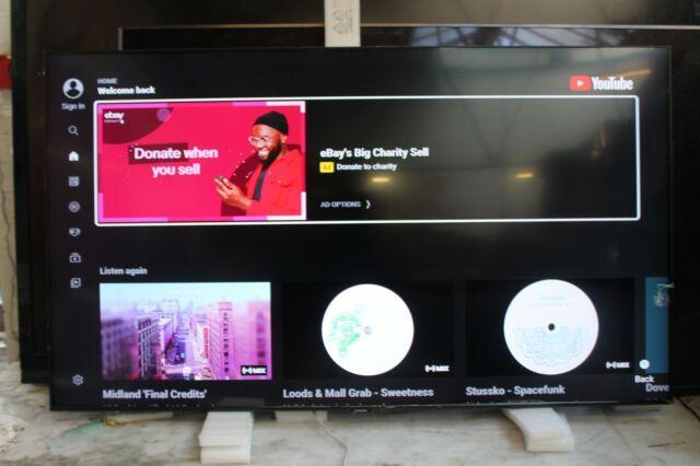 "Samsung QE58Q60TAUXXU 58"" Crystal 4K Quantum HDR Smart QLED TV"